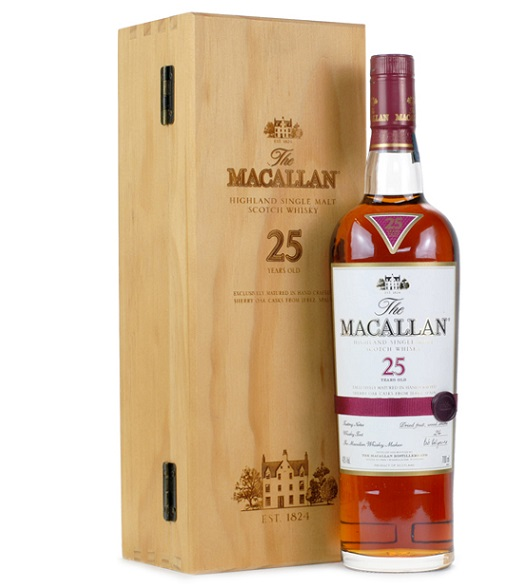 Macallan 25YO Sherry Oak