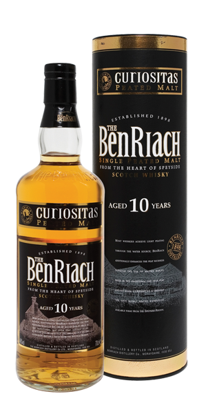 BenRiach Peated Single Malt 10YO Curiositas