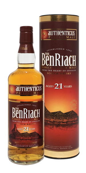 BenRiach Peated Single Malt 21YO