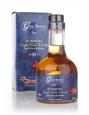 Glen Breton Single Malt Whiskey Ice 10YO Wine Barrel