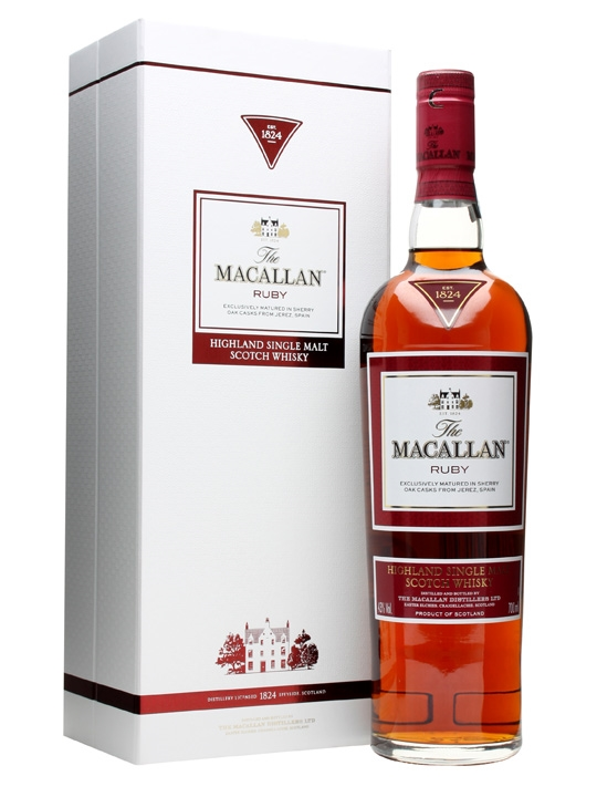 Macallan Single Malt Scotch 1824 Series Ruby