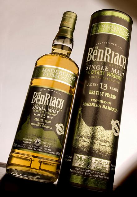 BenRiach Peated Single Malt 13YO Madeira Finish