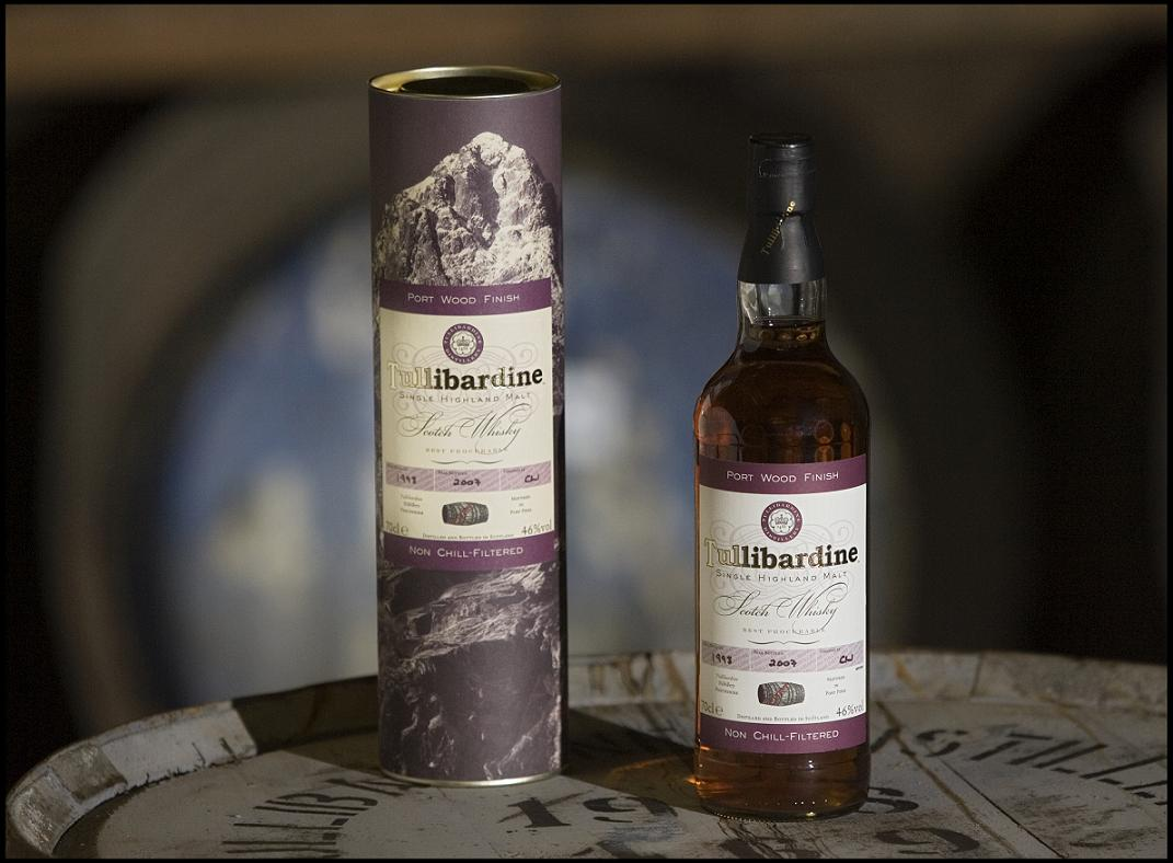 Tullibardine Single Highland Malt 1993 Port Finish