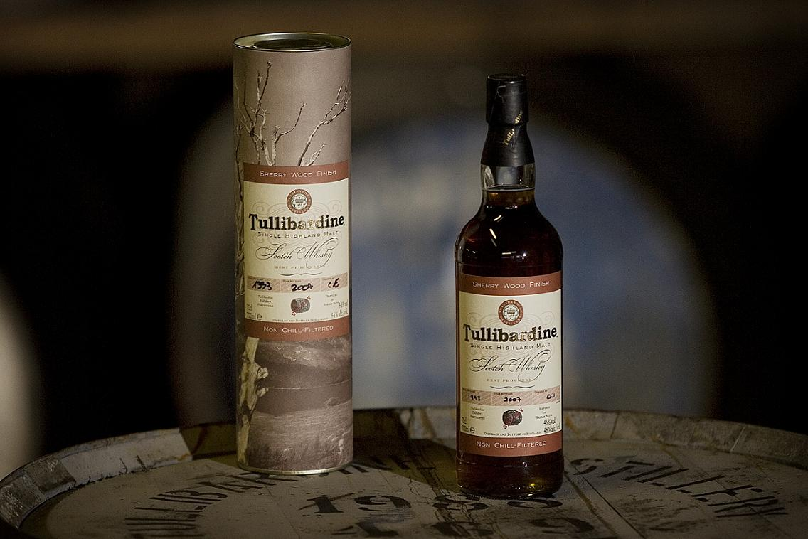 Tullibardine Single Highland Malt 1993 Sherry Finish
